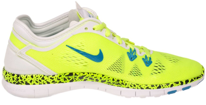 Nike Womens Free 5.0 TR Fit 5 Training Shoes Running Volt/Blue