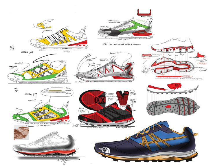 Cross Training Shoes design structure